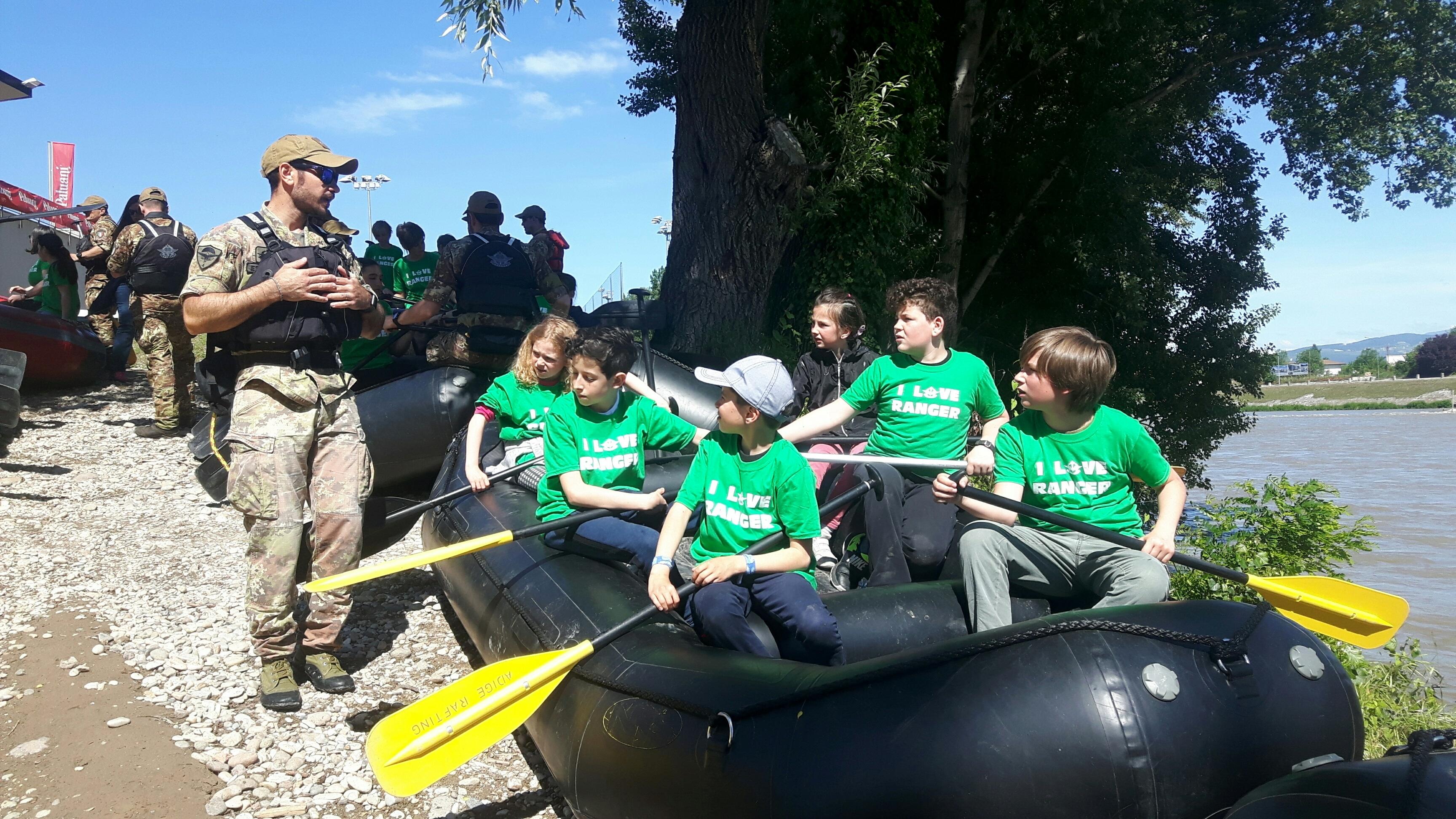 rafting bimbi e ranger partenza-2
