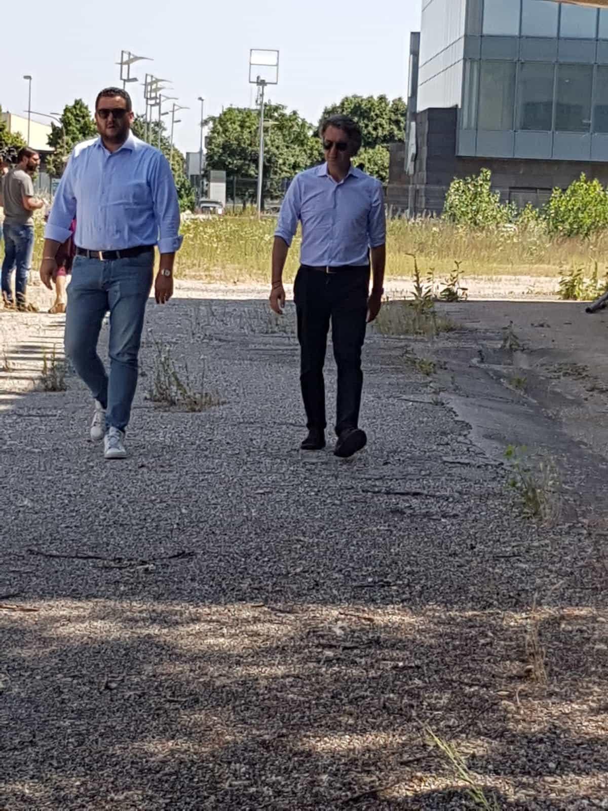 sindaco e Polato all'ex centrale del latte-2