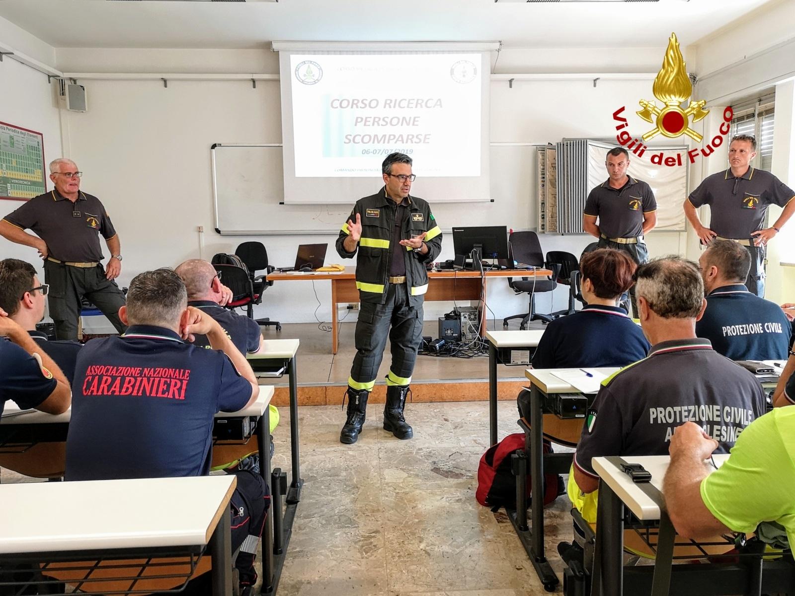 vigili del fuoco corso protezione civile-2