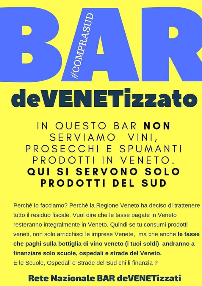 bar devenetizzato panoramico cosenza