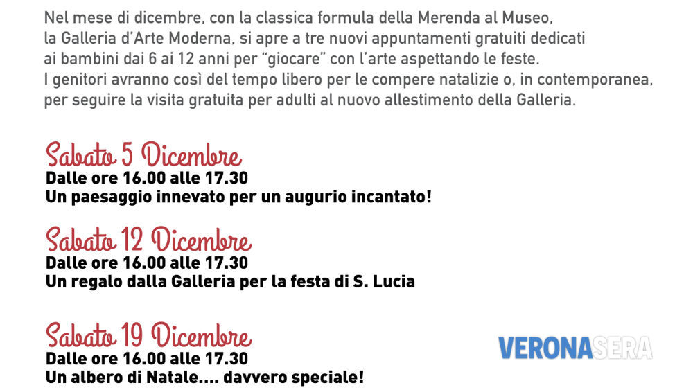 Tre merende alla Galleria d'Arte Moderna a Palazzo della Ragione - 5-12-19 Dicembre 2015-2