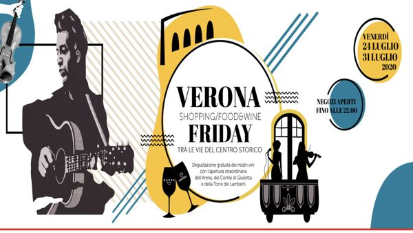 "Negozi e monumenti aperti la sera per il ""Verona Festival - art, wine and food"""