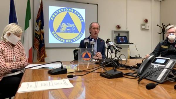 L'annuncio del governatore Zaia: «Presenteremo piano di produzione mascherine protettive made in Veneto»