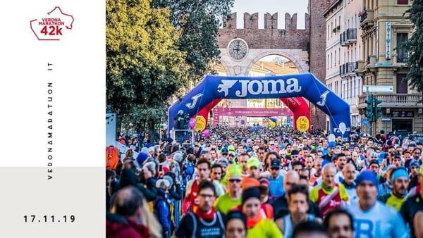"""Di corsa tra i più bei luoghi della città con la """"Verona Marathon"""""""