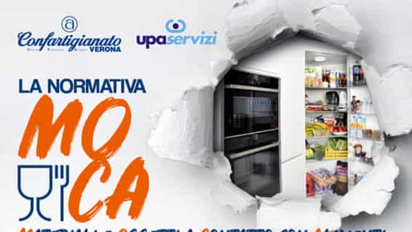 Un incontro formativo sulla normativa MOCA: materiali e oggetti a contatto con alimenti