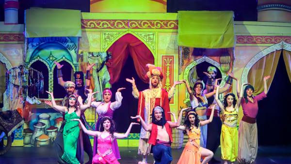 """Il musical """"Aladino e la lampada meravigliosa"""" in scena al Teatro Salieri"""