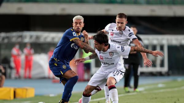Hellas Verona - Cagliari 2-1 | I gol e gli highlights della 25° giornata di Serie A