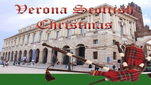 """Marce scozzesi e cornamuse in Gran Guardia per il """"Verona Scottish Christmas"""""""