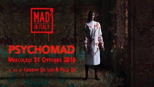 Psychomad, grande festa di Halloween al Mad' in Italy