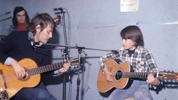 La PFM Premiata Forneria Marconi e Cristiano De André cantano Fabrizio in Arena a Verona