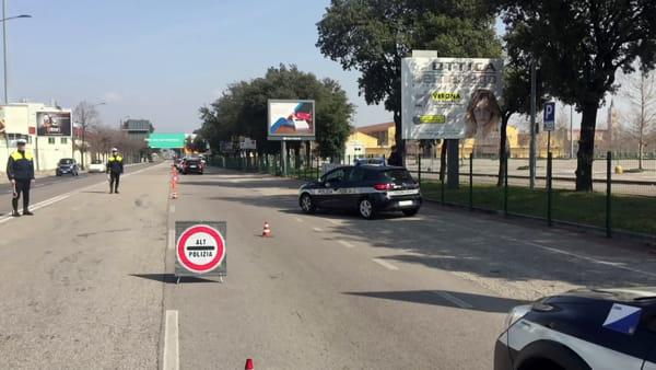 Primi posti di blocco a Verona: 4 denunce su 398 veicoli controllati