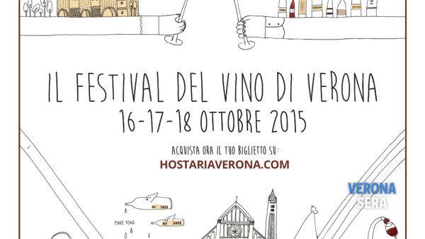 Hostaria, il  Festival del Vino di Verona fa il suo esordio dal 16 al 18 ottobre con eventi, degustazioni e conferenze