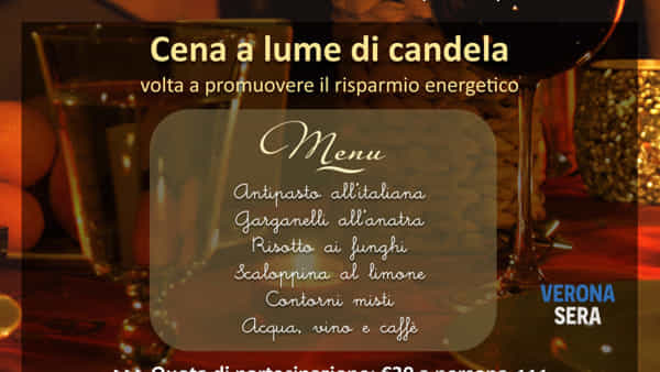 """""""M'illumino la cena"""": serata a lume di candela organizzata dalla Croce Rossa Italiana"""