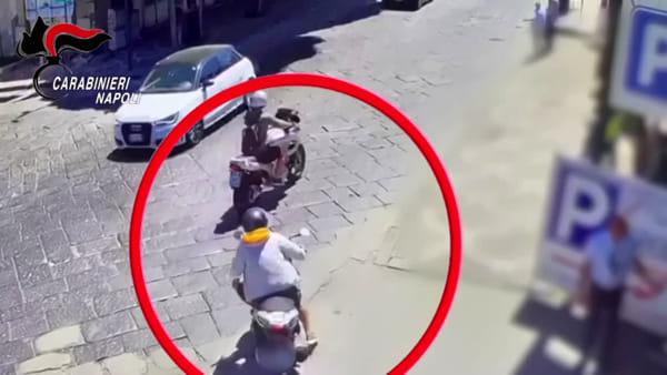 Aveva strappato il Rolex di un turista veronese a Pompei, arrestato 37enne