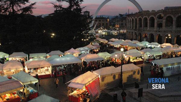 Tornano a Verona gli splendidi banchetti per la Fiera di Santa Lucia