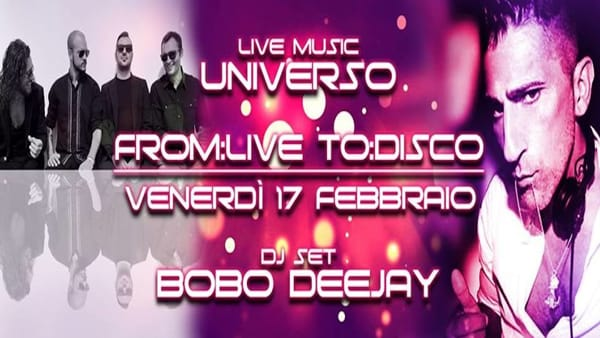 L'Universo al Mad' in Italy, per una serata a base di evergreen, funky e rock