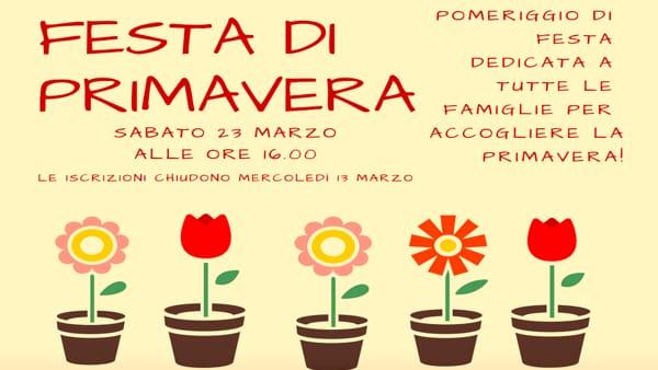 Grande festa di Primavera a Verona presso lo Spazio Famiglie
