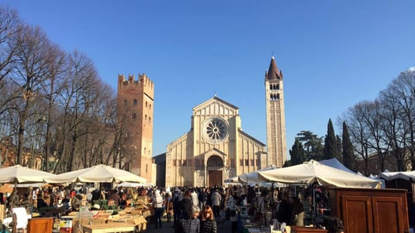Verona Antiquaria: mercato dell'antiquariato, collezionismo, modernariato e del vintage
