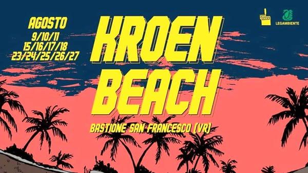"""Il Colorificio va in spiaggia, o quasi: """"Kroen Beach"""" al Bastione San Francesco"""