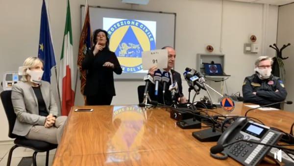Ci sono stati 91 nuovi nati in un giorno in Veneto, Zaia: «Un segno della dimensione che la vita continua»