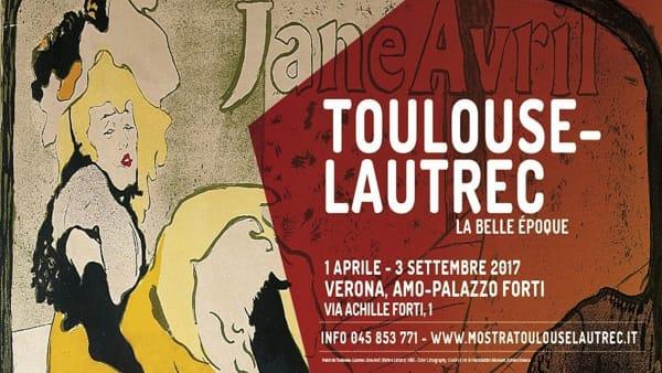 """La Vita nell'Arte, domenica 30 aprile visita guidata alla mostra """"Toulouse-Lautrec. La Belle Époque"""""""