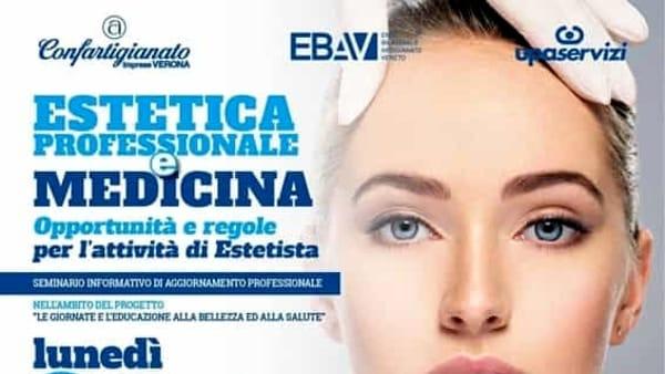 """A Pescantina l'incontro """"Estetista – estetica professionale e medicina"""""""