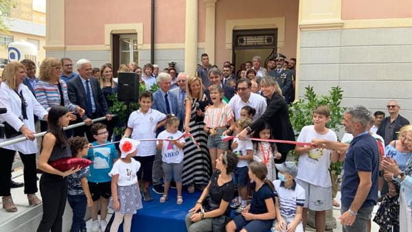 Nella ristrutturata Villa Fantinelli è stata inaugurata Casa Abeo
