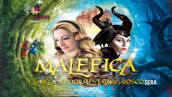 """Al Teatro Nuovo Verona il musical """"Malefica e la Bella Addormentata nel Bosco"""""""