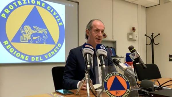 Zaia annuncia il piano d'emergenza contro il coronavirus: «Ci prepariamo al brutto tempo»