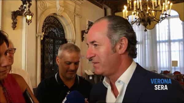 Autonomia, Zaia: «Chiunque andrà a Palazzo Chigi ci troverà sulla porta»