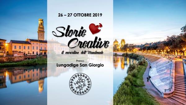 """In lungadige San Giorgio torna """"Storie Creative – il Mercatino dell'Hand Made"""""""