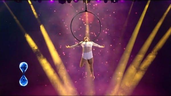 Le acrobazie della veronese Elisa Mutto in semifinale a Tu si que vales