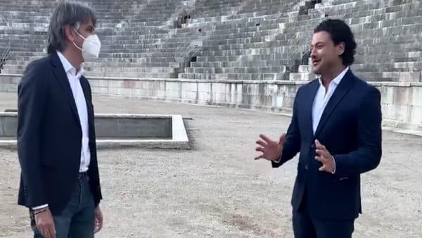 """L'Arena di Verona torna in televisione sulla Rai con il """"Canto degli Italiani"""""""
