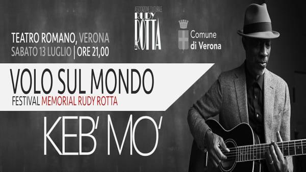 """Al Teatro Romano il festival musicale """"Volo sul Mondo"""" celebra il bluesman Rudy Rotta"""