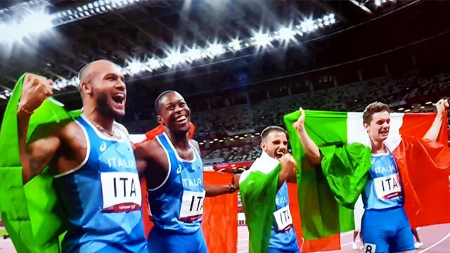 Jacobs, Tortu, Patta e Desalu sono nella storia: è medaglia d'oro nella  staffetta 4x100. Capolavoro Italia a Tokyo