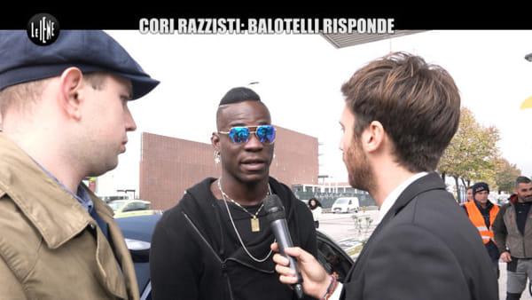 Balotelli: «Non ho accusato la Curva del Verona, ma solo pochi scemi»