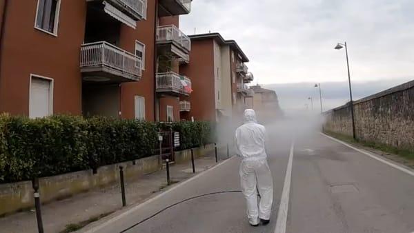 Anche a San Martino Buon Albergo sanificazione e pulizia straordinaria di strade e marciapiedi