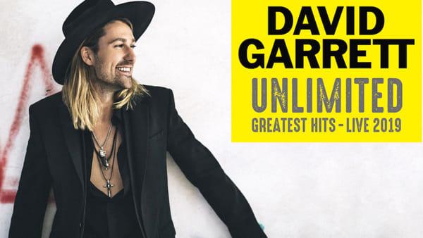 David Garrett in concerto all'Arena di Verona per celebrare i suoi 10 anni di crossover