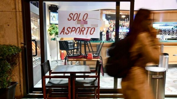 "Bar, ristorante ""solo asporto"" - foto Ansa via Today.it"