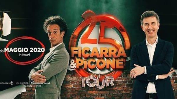 """""""Abbiamo fatto…25 anni"""", Ficarra e Picone per la prima volta in Arena a Verona"""