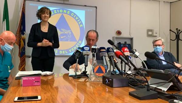 Coronavirus arrivato in Veneto dalla Serbia, Zaia: «Molto più contagioso»