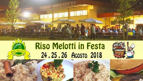 """A Isola della Scala è in arrivo la manifestazione """"Riso Melotti in Festa"""""""