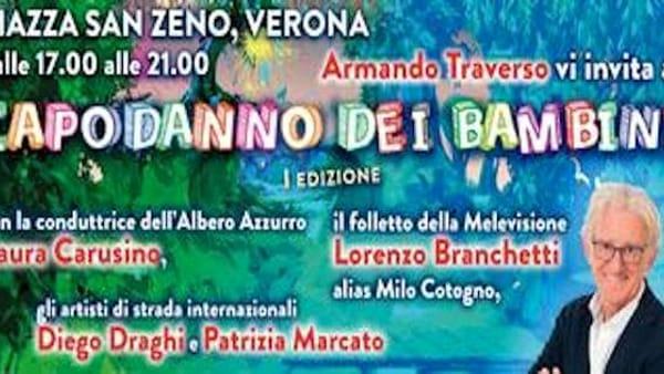 Verona ospita un evento di San Silvestro pensato per i più piccoli: il Capodanno dei bambini