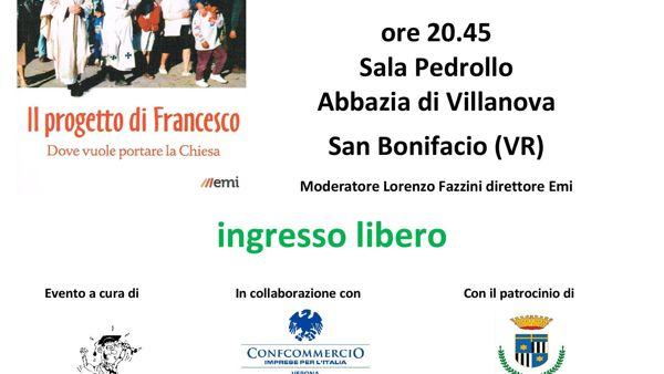Abbazia di Villanova a S. Bonifacio: incontro con Paolo Rodari, vaticanista di La Repubblica
