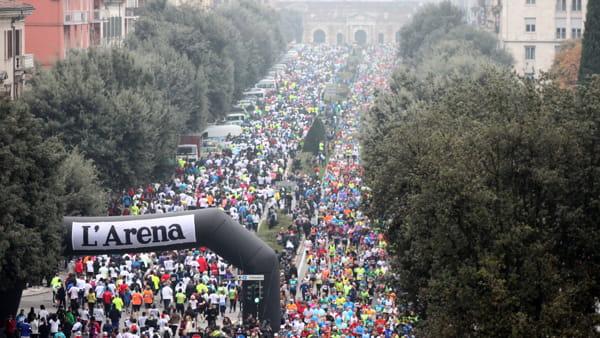 Domenica 20 novembre in città arriva la 15a edizione della Verona Marathon