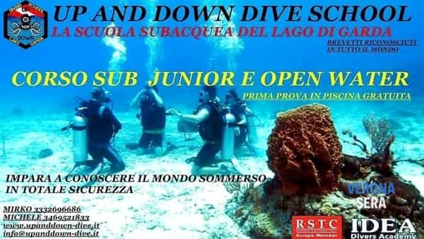 Prove gratuite in piscina: corso sub junior e open water