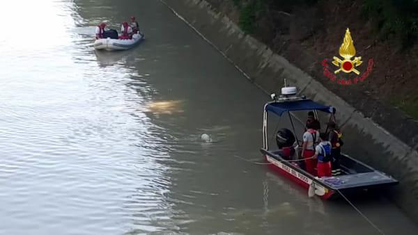 Trovato un cadavere nel canale Giuliari: sarebbe l'uomo scomparso lunedì