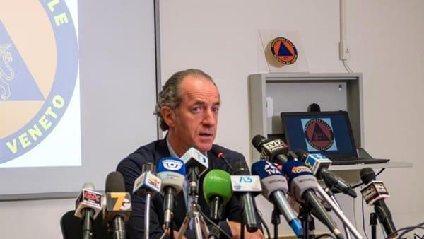 Nuova ordinanza in Veneto, Zaia: «Mascherine solo senza distanziamento»