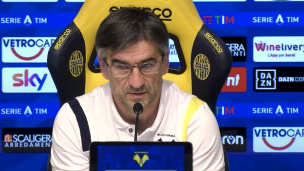 Juric in conferenza stampa