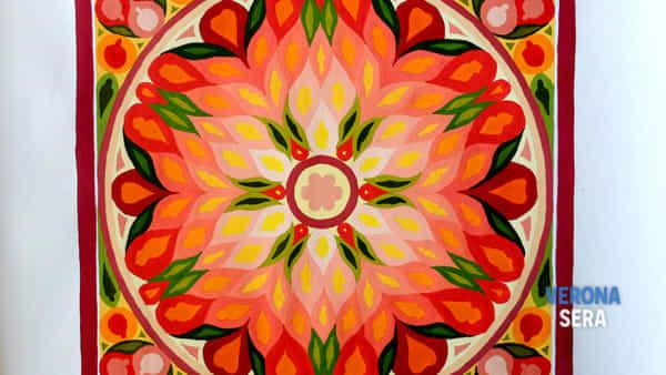 "mostra di pittura ""dipingere mandala""-2"
